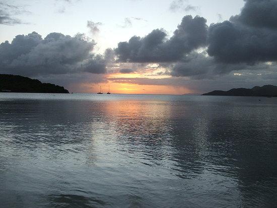 Vieques, Puerto Rico: a sunset by esperanzabay