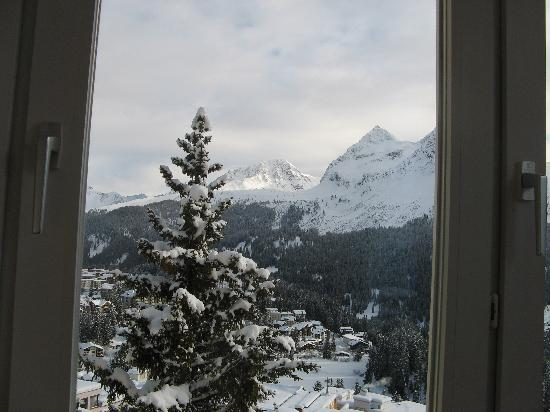 Hotel Hohenfels: View of Fairyland from my room