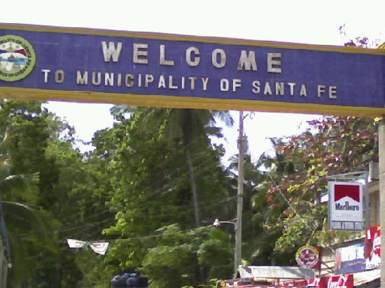 Bantayan Island, Filipinas: Welcome Sta.Fe