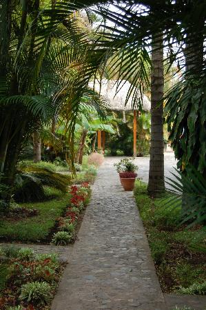The grounds of hotel Dos Mundos