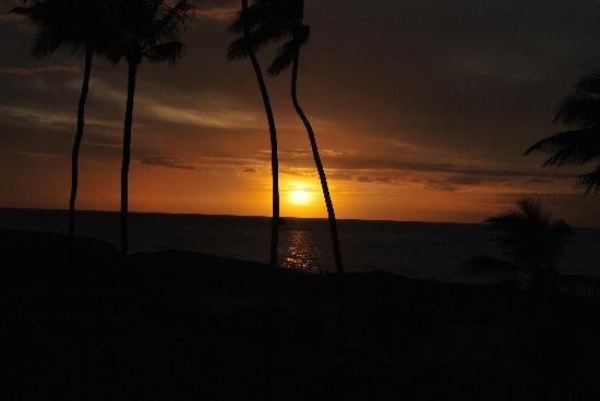 Koa Lagoon: sunset from 206