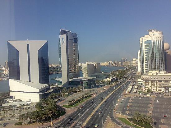 Hilton Dubai Creek: view from right side of our room