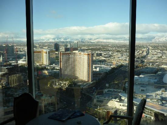 54th Floor View Of Snow And Strip Picture Of Wynn Las