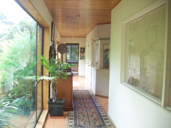 A Panoramic Country Homestay: Hallway
