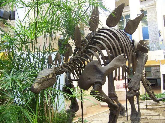 Саскатун, Канада: stegosaurus