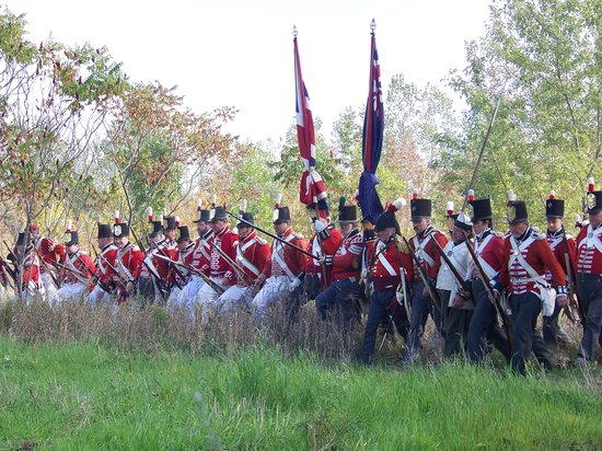 London, Kanada: 1812 battle