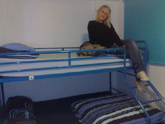 St Christopher's Inns: Deux lits dans une chambre double, dont un grand lit