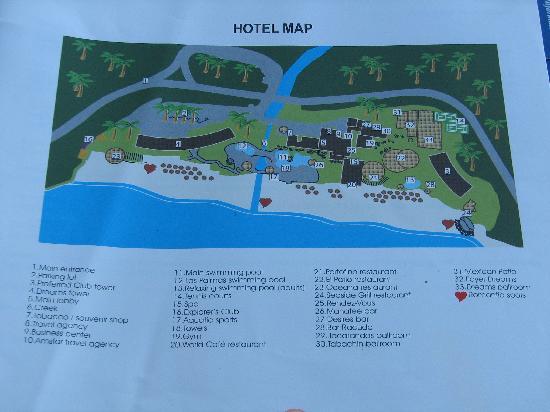 Map Of Resort Picture Of Hyatt Ziva Puerto Vallarta Puerto