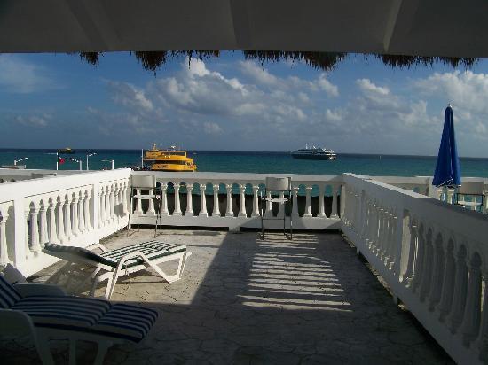 Plaza Marina Condos: View from balcony door