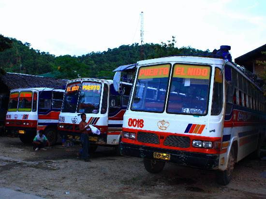 Buses to & from El Nido & Puerto