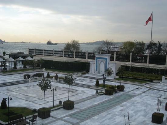 Four Seasons Istanbul at the Bosphorus: View from Room 2202.