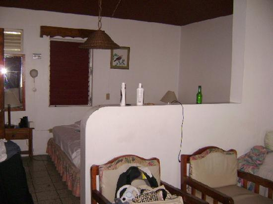 Sunflower Beach Resort Villas: Sunflower 1 bdrm cottage view Dec 08