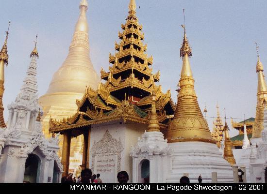 Birmanie (Myanmar) : Pagode Shwedagon
