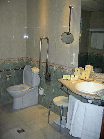 Ski Plaza Hotel: nice Bathroom