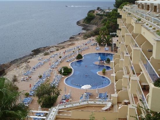 Picture of pool from our room iberostar suites hotel for Jardin del sol santa ponsa