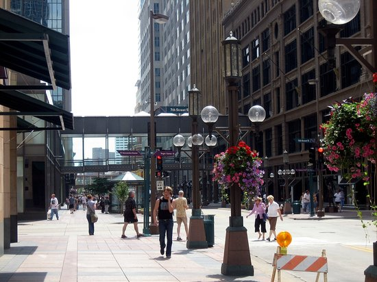 Hotels Near  Nicollet Mall Minneapolis
