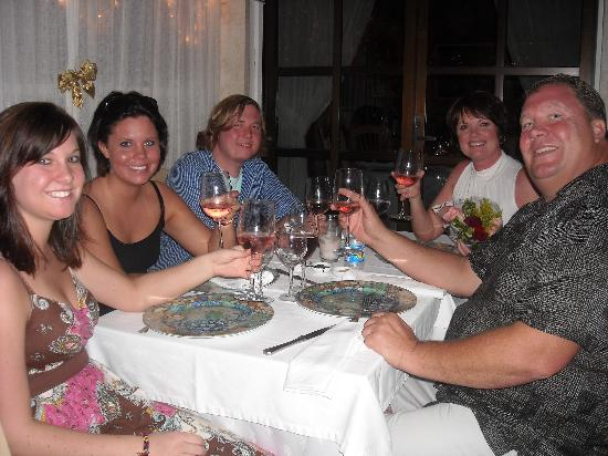 Riviera Maya Suites: A fabulous dinner recommended by Franchesco