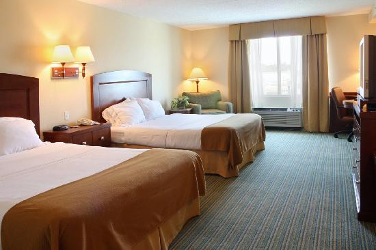 Holiday Inn Express Rehoboth Beach: Traditiona Two Queen Room