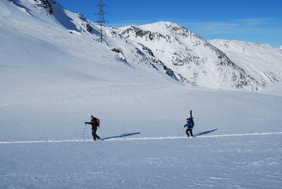 Bellevue Alpine Lodge: Ski touring