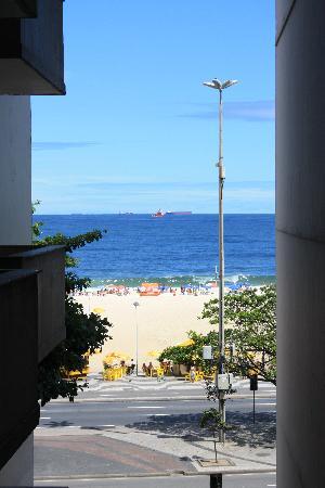 Tulip Inn Copacabana: View from room 404