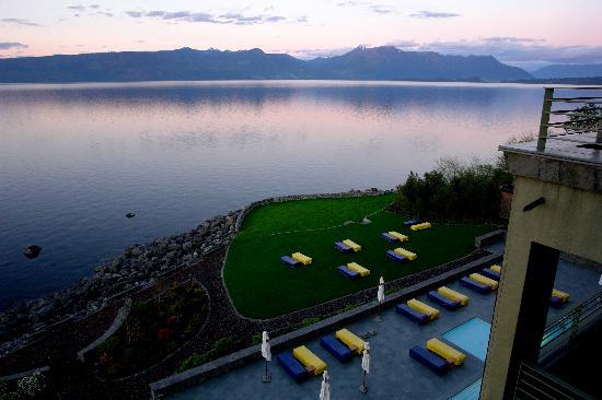 Enjoy Park Lake : vista del balcón