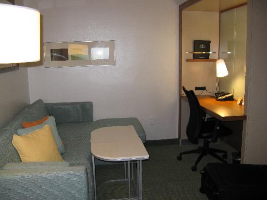 SpringHill Suites Tallahassee Central: Sitting area