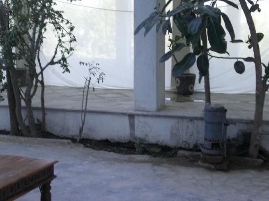 Karohi Haveli: Detalle patio central