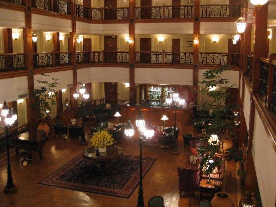 The Oberoi Cecil, Shimla: Inner Courtyard