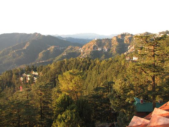 The Oberoi Cecil, Shimla: The view from my room