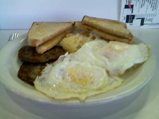 Penny's Diner: My (copious and succulent!) breakfast