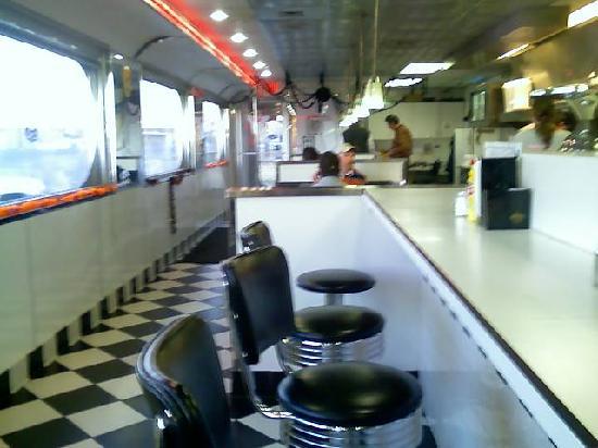 Inside Penny's Diner