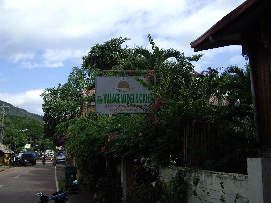 Coron Village Lodge: Sign Reads: Home Away From Home