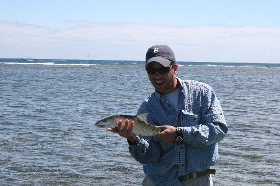 Coco Plum Island Resort: Fly fishing for bonefish