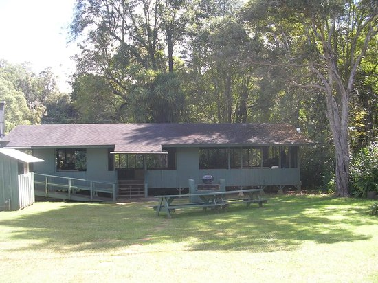 Camp Slogett: Picture of the dinning area at camp Sloggett