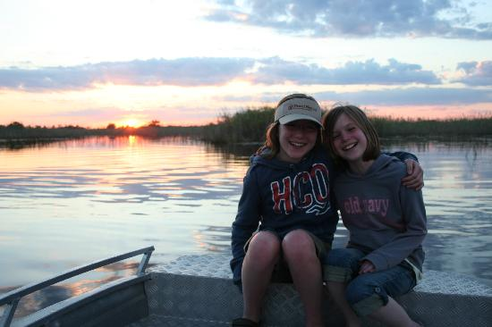 Okavango Delta, Botswana: My Kids at Little Vumbura