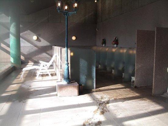 Kusatsu Onsen: 洗い場です!