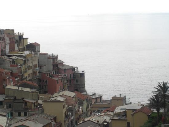 La Torretta: staight down from window