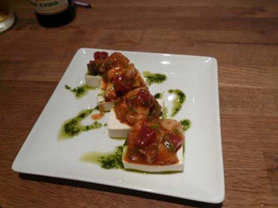 Dinings: 豆腐料理、うまくアレンジしています