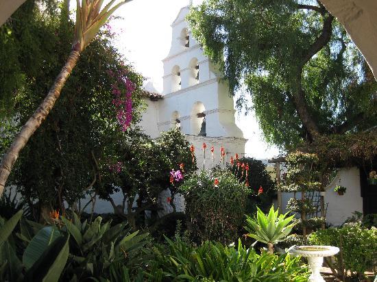 Mission Garden Courtyard Picture Of Mission San Diego De