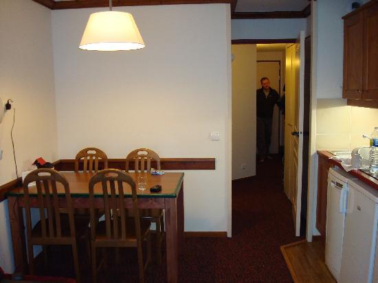 Pierre & Vacances Residence Le Mont Soleil: Dining area
