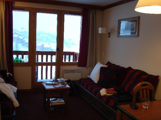 Pierre & Vacances Residence Le Mont Soleil: Sitting area