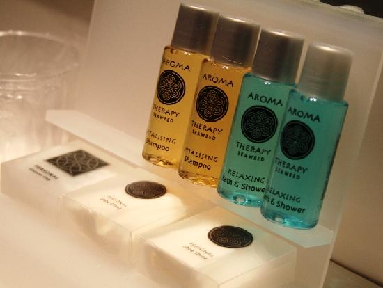 De Lunterse Boer Hotel Restaurant: Lots of soap and shampoo