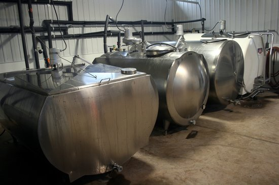 Prince Edward Distillery: Fermentation Tanks