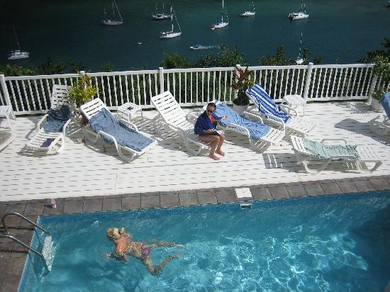 The Inn On The Bay: The pool and terrace