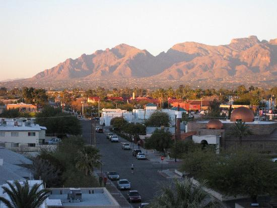 Tucson Marriott University Park: View from the hotel room