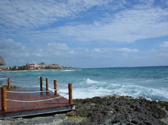 Outer beach area