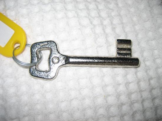 Boomerang Guesthouse Ephesus: Old-fashioned keys