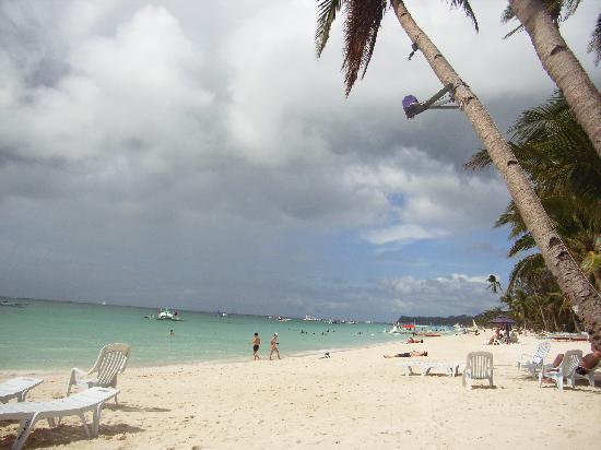 Boracay, Philippines: ホワイトサンドビーチ