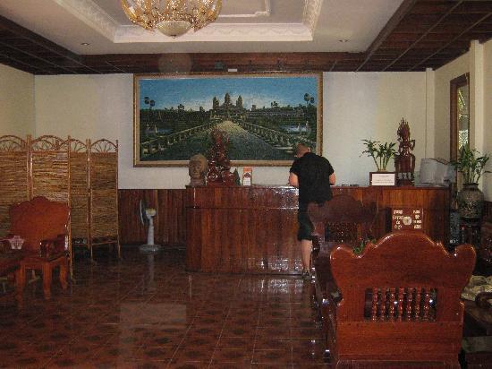 Neak Pean Hotel: Hotel lobby