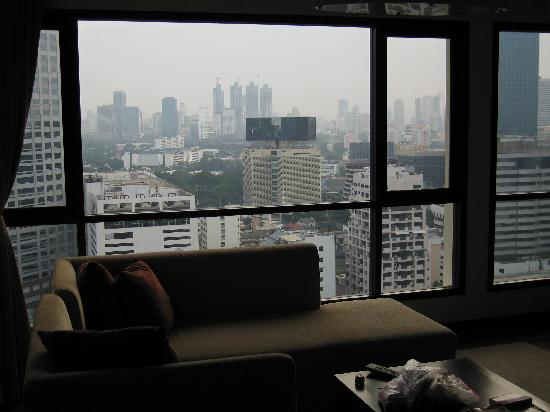 Bandara Suites Silom, Bangkok : view
